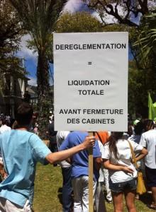 dereglementation